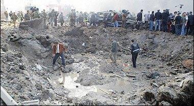 September BoB Bombing Run :: September Slumber - Page 6 CraterFromCarBomb14Feb2005Lebanon