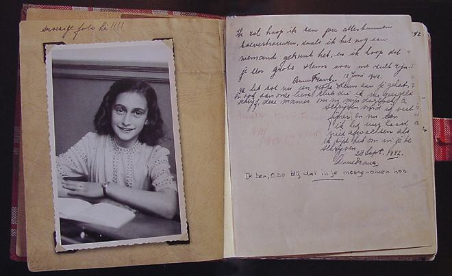 evaluation on anne frank Evaluation: woodbrook anne frank web quest : criteria points 4 3 2 1 : introduction all.