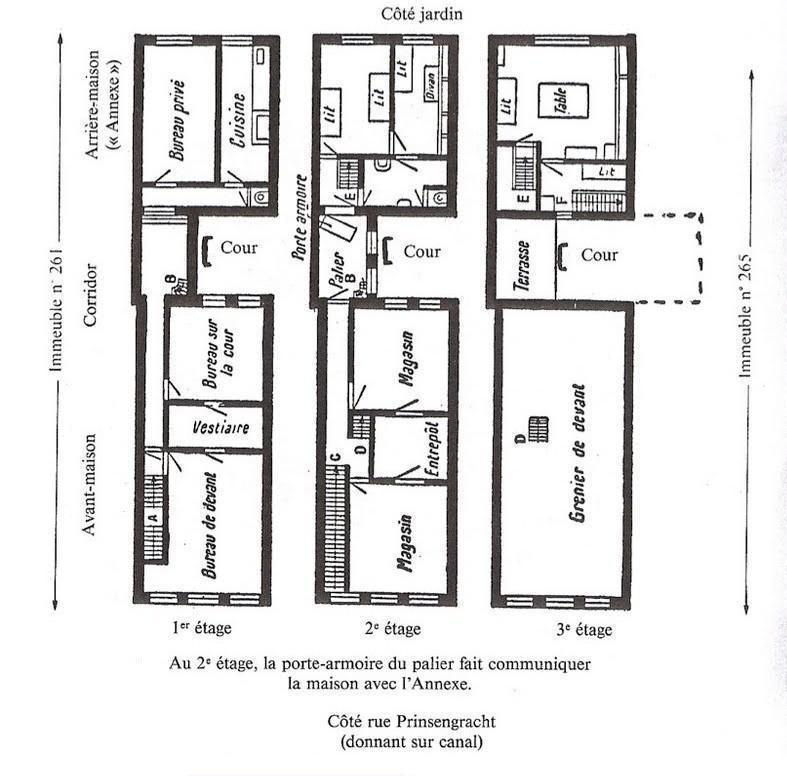 Le journal d anne frank est il authentique annexes House map photo