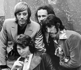 Members of The Doors (left to right) Ray Manzarek Jim Morrison Robbie Krieger and John Densmore.  sc 1 st  Huge Questions & The Strange Death of Jim Morrison pezcame.com