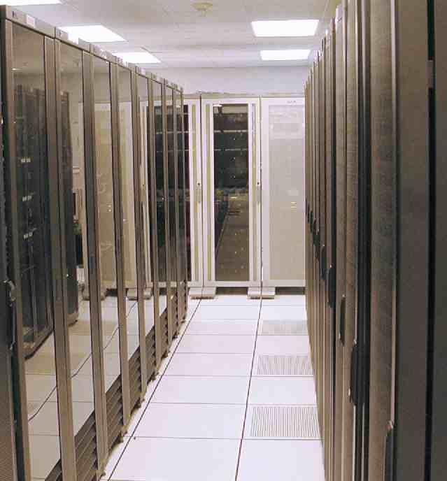 9/11 planes flew into computer rooms