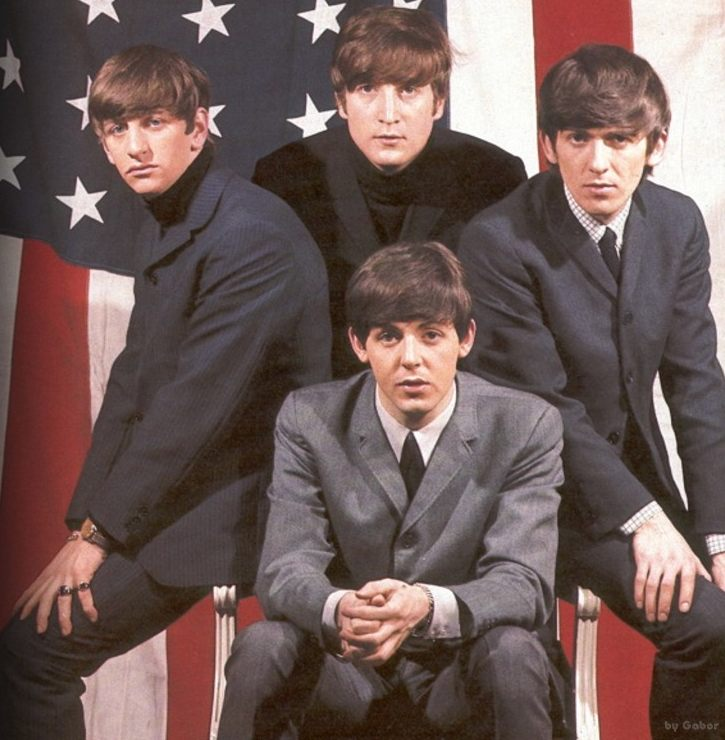Notice That Paul McCartney Is Not The Largest Of Beatles John Lennon Also McCartneys Ears Protrude